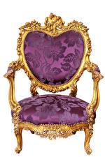 Fotos Sessel Weißer hintergrund Design Luxus