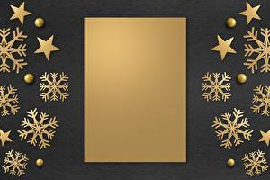 Wallpaper New year Template greeting card Snowflakes