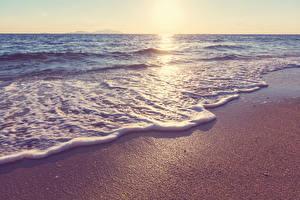 Bilder Küste Wasserwelle Meer