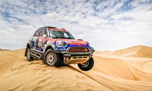 Fotos Wüste Mini Rallye Cooper 303 X-Raid Team Dakar 2019 automobil