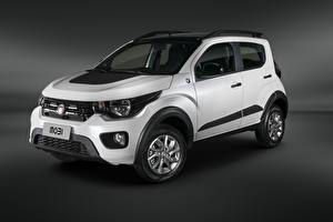 Fotos Fiat Weiß SUV 2018-19 Mobi Way Extreme Cross auto