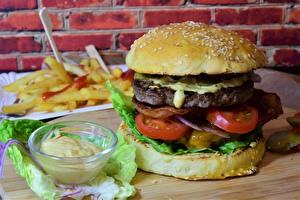 Bilder Burger Fast food Gemüse Brötchen Lebensmittel