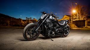 Pictures Harley-Davidson Black