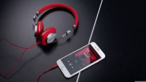 Picture Headphones Smartphone