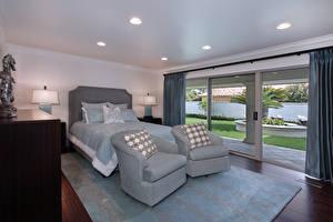 Hintergrundbilder Innenarchitektur Design Schlafkammer Bett Sessel Teppich