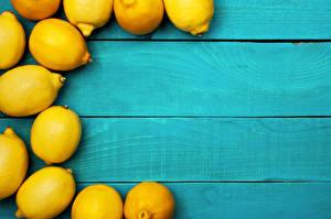 Fotos Zitrone Bretter Lebensmittel