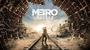 Fotos Metro Exodus Schienen Tunnel Spiele