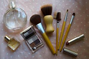 Bilder Kosmetik Pinsel Flasche Schminke Make Up