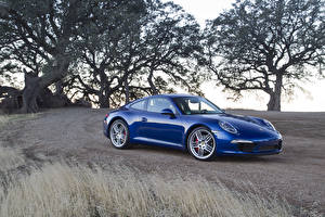Images Porsche Blue Metallic 2011 911 Carrera S auto