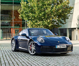 Bilder Porsche Blau Metallisch 2019 911 Carrera S Worldwide Autos