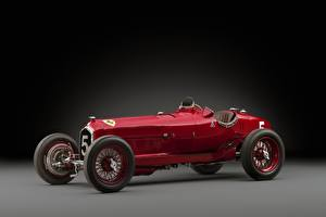 Fotos Retro Alfa Romeo Rot 1932 Tipo B P3 Autos