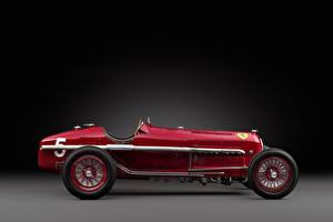 Image Vintage Alfa Romeo Red Side 1932 Tipo B P3