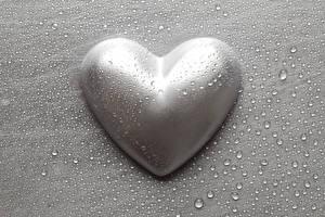 Hintergrundbilder Valentinstag Grau Herz Tropfen