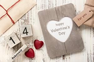 Papéis de parede Dia dos Namorados Coração Inglês