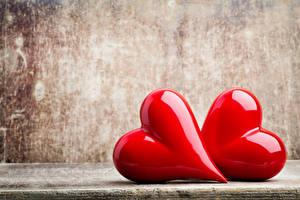 Hintergrundbilder Valentinstag Herz Zwei Rot