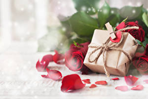 Images Valentine's Day Roses Gifts Petals Peg Heart Flowers