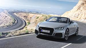 Fonds d'écran Audi Argent couleur Roadster TT RS 2020