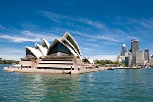 Wallpaper Australia Building Sydney Bay Design Opera House Cities