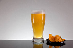 Images Beer Highball glass Chips Foam Food