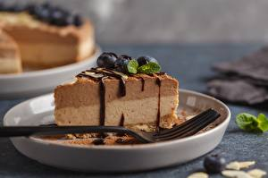 Pictures Torte Chocolate Piece Fork Food