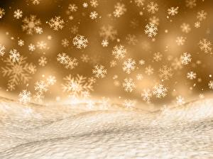 Picture New year Texture Snowflakes