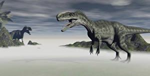 Image Dinosaurs Tyrannosaurus rex 3D Graphics