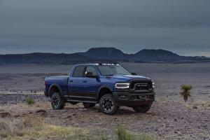 Fondos de Pantalla Dodge Pickup Azul 2019 Ram 2500 Power Wagon Crew Cab