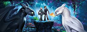 Hintergrundbilder Drache How to Train Your Dragon 3 The Hidden World Zeichentrickfilm
