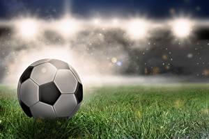 Wallpapers Footbal Ball Grass