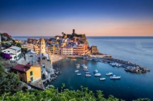 Fotos Gebäude Ligurien Cinque Terre Park Italien Meer Städte
