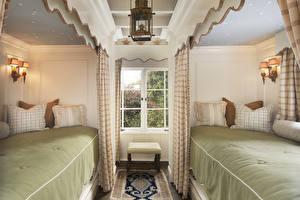 Fotos Innenarchitektur Schlafzimmer Bett Lampe Fenster
