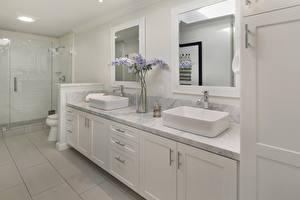 Fotos Innenarchitektur Design Badezimmer Spiegel