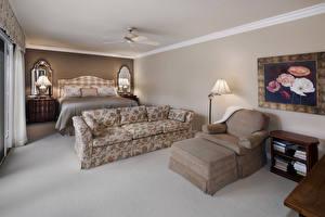 Fotos Innenarchitektur Design Schlafzimmer Bett Sofa Sessel Lampe