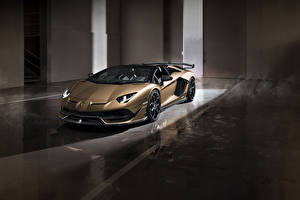 Fonds d'écran Lamborghini Roadster 2019 Aventador SVJ Roadster Worldwide