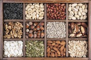 Picture Nuts Many Hazelnut Grain Food