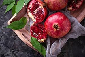 Photo Pomegranate Grain