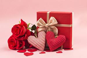 Bilder Rosen Valentinstag Herz Blumen