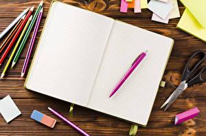 Pictures School Notebooks Pencils Ballpoint pen