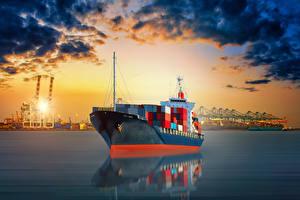 Fotos Schiffe Containerschiff