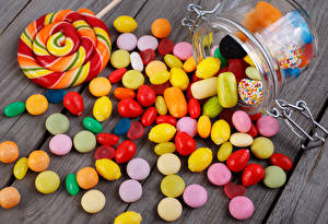 Wallpapers Sweets Candy Lollipop Boards Jar Food