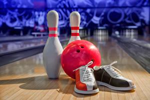 Fotos Bowling Plimsoll Schuh Kugeln Sport
