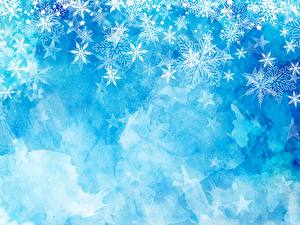 Picture Texture New year Snowflakes