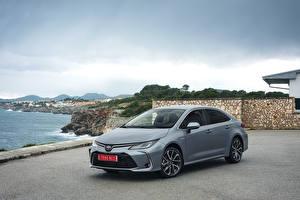 Fotos Toyota Hybrid Autos Grau 2019 Corolla Hybrid Sedan Worldwide Autos