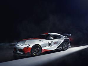 Hintergrundbilder Fahrzeugtuning Toyota GT4 GR Supra