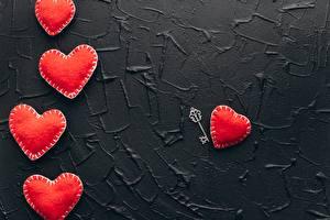 Fotos Valentinstag Rot Herz Schlüssel