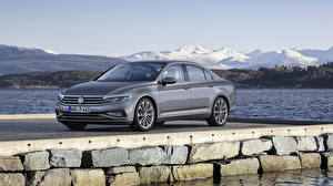 Wallpaper Volkswagen Gray 2019 Passat Highline Worldwide automobile