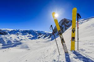 Hintergrundbilder Winter Skisport Schnee Sonne Sport