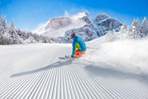 Hintergrundbilder Winter Skisport Schnee Uniform Fahren