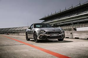 Hintergrundbilder Abarth Grau 2018 124 GT Autos