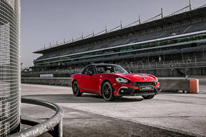 Picture Abarth Red Metallic 2018 124 GT Cars